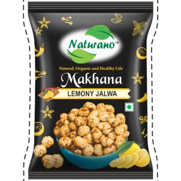 naturano makhana lemonoz, naturano, naturano.in, naturano snacks, dry fruits namkeen, naturano dry fruits namkeen, naturano chakhna